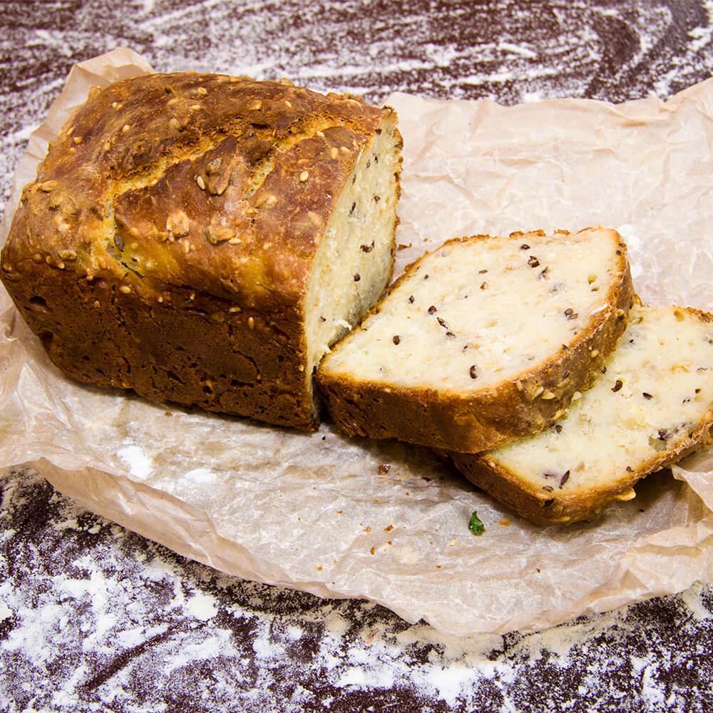 Хлеб зерновой на кефире, 300 гр