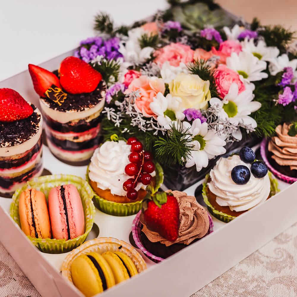 Набор Maxi с цветами