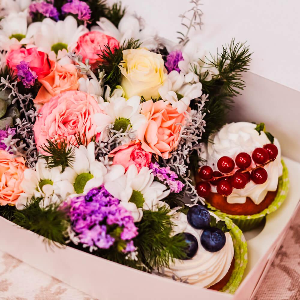 Набор Midi с цветами