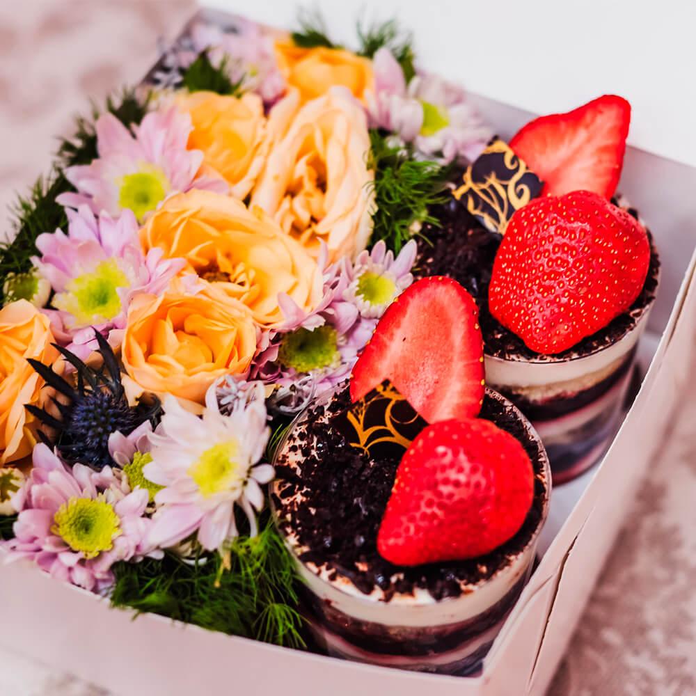 Набор Mini с цветами